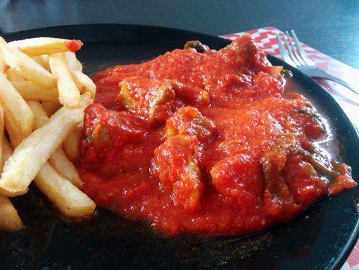Receta de magro con tomate