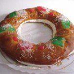 Receta de el Roscón de Reyes.