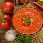 Cómo hacer la sopa de tomate.
