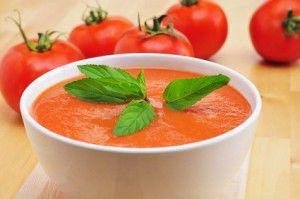 Receta del gazpacho