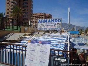 Restaurante Armando en Fuengirola, pescaito frito a buen precio.
