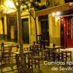Recetas de comida típicas de Sevilla.