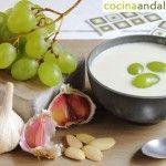 Receta del ajo blanco andaluz.