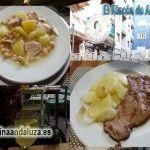 Menú del día en Granada