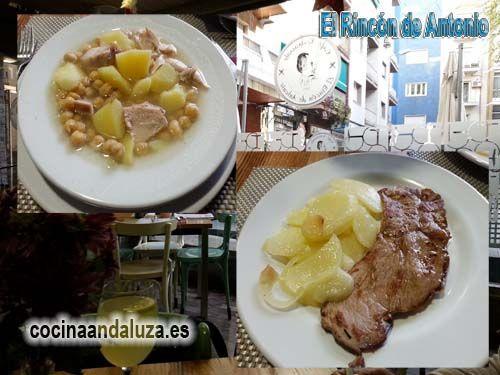 Restaurante El Rincón de Antonio de Granada - Menú del día