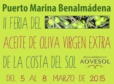 Feria del aceite de oliva virgen extra de Benalmadena