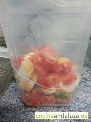 Ingredientes para Pimentón en jarra
