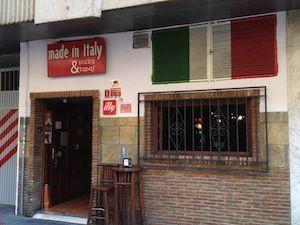 Ristorante pizeria Made in Italy en Granada
