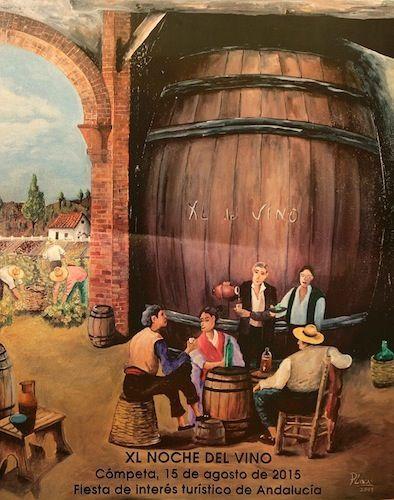 Noche del Vino de Cómpeta 2015