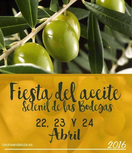 Fiesta del Aceite de Setenil de las Bodegas 2016