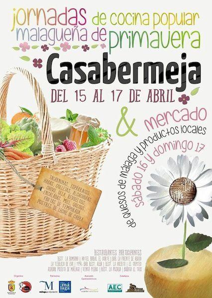 Jornadas de Cocina Popular Malagueña de Primavera en Casabermeja