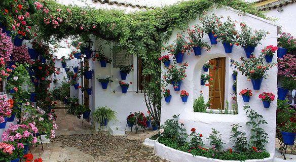 Ruta de los patios de c rdoba planos para ver los patios - Imagenes de patios andaluces ...