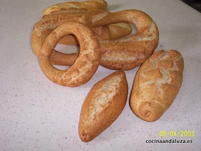 Panes, roscas y pitufos integrales