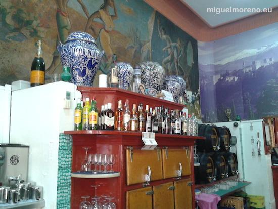 Interior de las Bodegas Espadafor de Granada