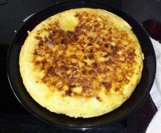 Receta de la tortilla de patatas