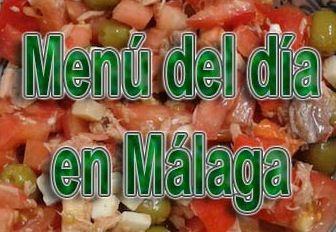 Menús para comer bien y barato en Málaga