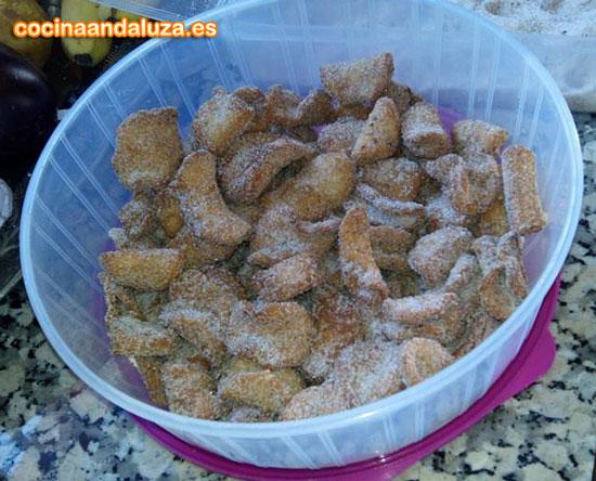 Pestiños caseros con la receta de la abuela