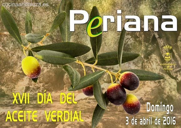 XVII Día del Aceite Verdial de Periana