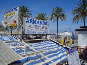 Restaurante Armando en el Puerto de Fuengirola