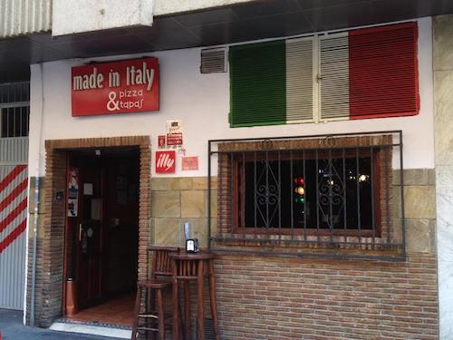 Pizzería Made in Italy en Granada