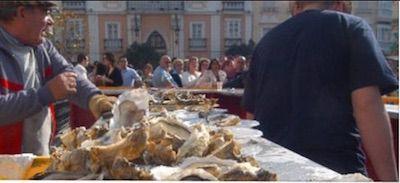 Pestiños del Carnaval de Cádiz