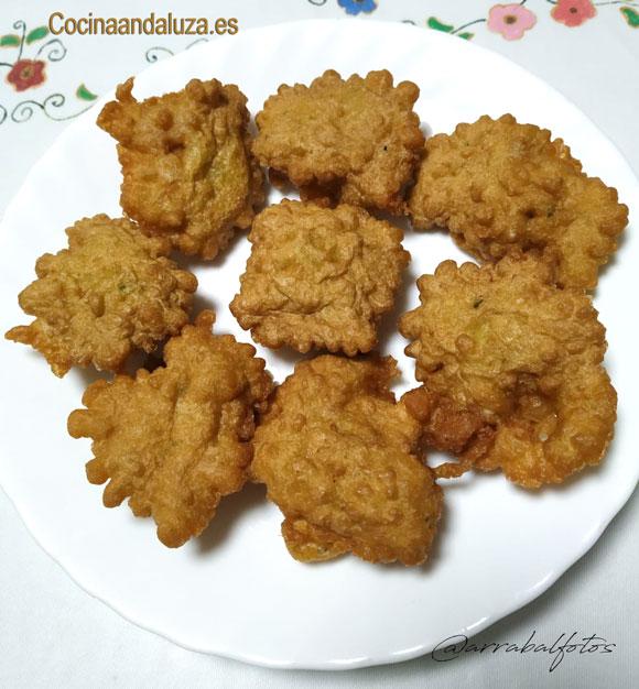 Tortillitas de bacalao caseras con la receta de la abuela