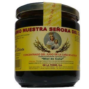 """Clásico bote de miel de caña de """"Ingenio Ntra. Sra. del Carmen"""""""