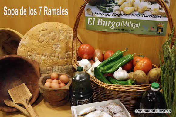 Sopa de los Siete Ramales - El Burgo 2019