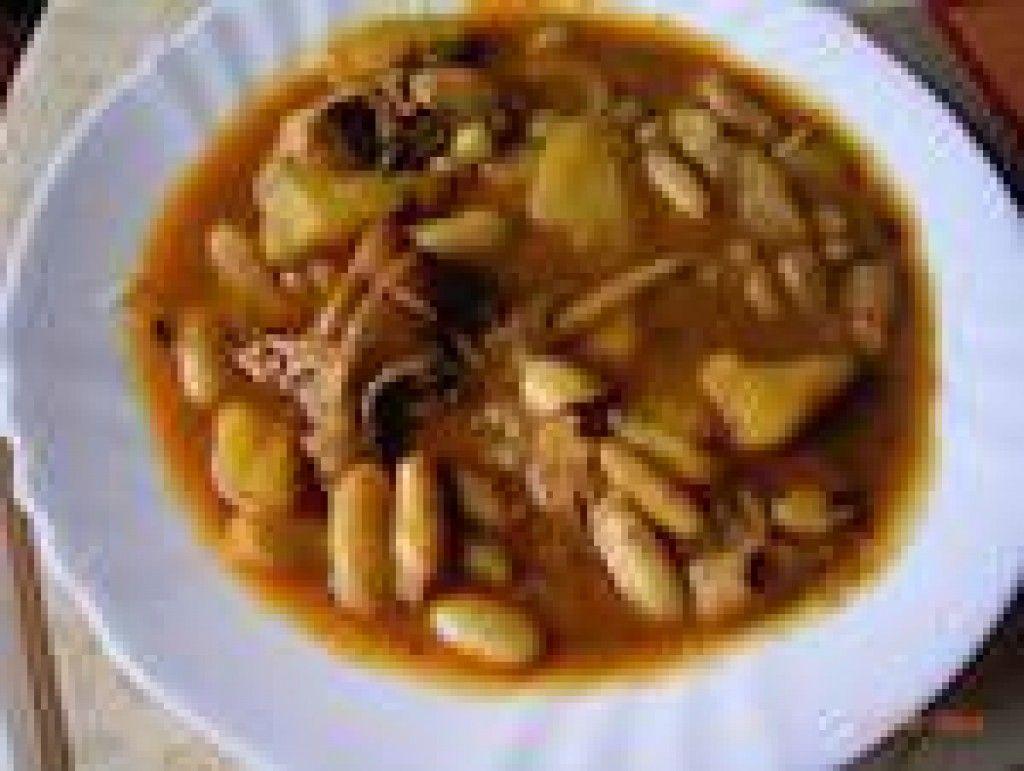 Gurullos con conejo, receta de Almería