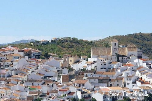 Comer en Colmenar, pueblo de Málaga