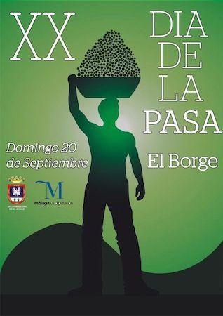 Día de la Pasa de El Borge 2015
