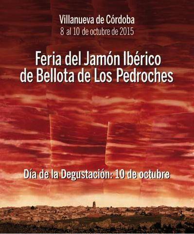 Cartel de la Feria del Jamón Ibérico de Bellota de Los Pedroches