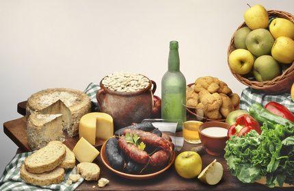 Platos típicos asturianos