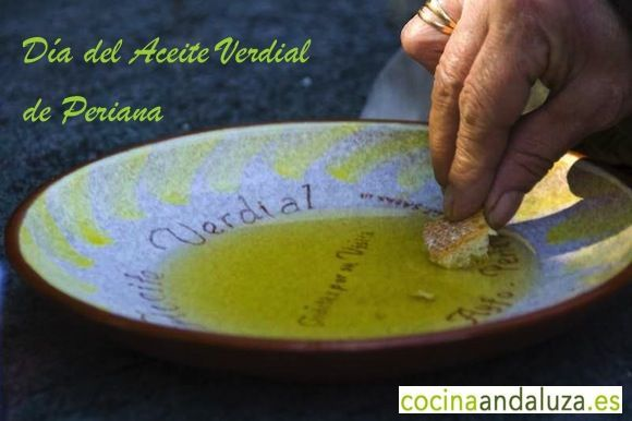 Disfruta del aceite verdial en Periana