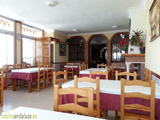 Salón Comedor de Bar Cuenca en Mondrón