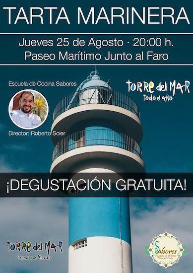 Tarta Marinera en Torre del Mar
