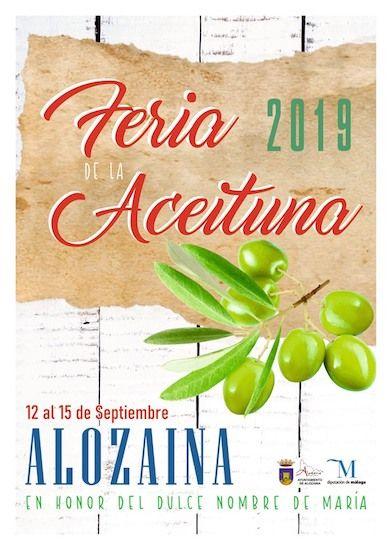 Feria de la Aceituna de Alozaina 2019