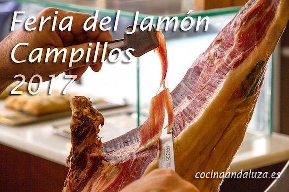 Feria del jamón en Campillos