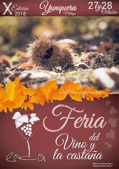 Feria del Vino y la Castaña de Yunquera 2018