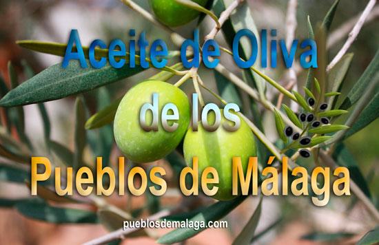 Aceite de Oliva de los Pueblos de Málaga