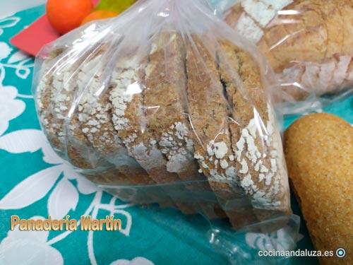 Pan integral 100% de molde - Panadería Martín  en Málaga